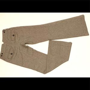 Banana Republic Pants - 🌻Banana Republic brown Wide Leg Wool Tweed Pants